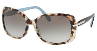 Prada PR 08OS UAO0A7 GREY GRADIENTSPOTTED BROWN