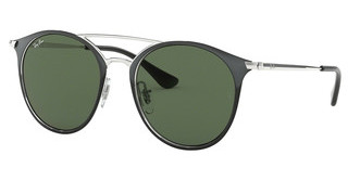 Ray-Ban Junior RJ9545S 271/71 GREENSILVER ON TOP BLACK