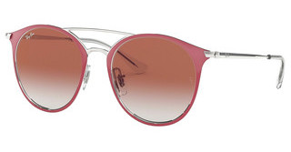 Ray-Ban Junior RJ9545S 274/V0 RED MIRROR REDSILVER ON TOP RED