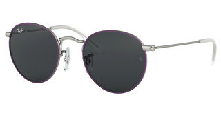 Ray-Ban Junior RJ9547S 279/87 DARK GREYTOP RUBBER VIOLET ON SILVER