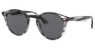 Ray-Ban RB2180 643087 DARK GREYSTRIPPED GREY HAVANA