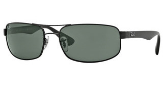 Ray-Ban RB3445 002/58 DARK GREEN POLARBLACK