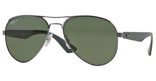 Ray-Ban RB3523 029/9A POLAR GREENMATTE GUNMETAL