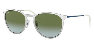 Ray-Ban RB3539 9080I7 LIGHT BLUE GRADIENT GREENBRUSCHED SILVER