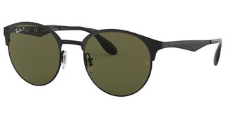 Ray-Ban RB3545 186/9A POLAR GREENSHINY BLACK/TOP MATTE BLACK