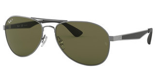 Ray-Ban RB3549 004/9A POLAR GREENGUNMETAL