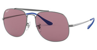 Ray-Ban RB3561 9106W0 VIOLET POLARGUNMETAL