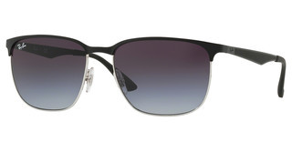 Ray-Ban RB3569 90048G GREY GRADIENT DARK GREYSILVER TOP BLACK