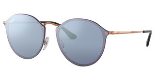 Ray-Ban RB3574N 90351U DARK VIOLET MIRROR SILVERCOPPER