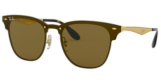Ray-Ban RB3576N 043/73 DARK BROWNBRUSHED GOLD