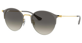 Ray-Ban RB3578 917411 GREY GRADIENT DARK GREYGOLD TOP ON GREY