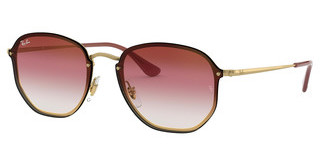 Ray-Ban RB3579N 91400T TRI GRAD BROWN/PINK/TRASPARENTDEMI GLOSS GOLD