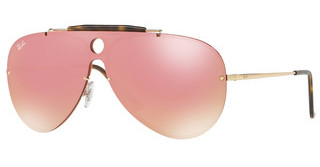 Ray-Ban RB3581N 001/E4 PINK MIRROR PINKGOLD