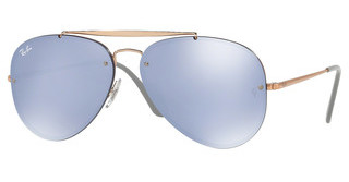 Ray-Ban RB3584N 90531U DARK VIOLET MIRROR SILVERCOPPER