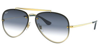 Ray-Ban RB3584N 91400S TRI GRAD GREY/BLUE/TRASPARENTDEMI GLOSS GOLD