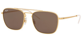 Ray-Ban RB3588 901373 BROWNRUBBER GOLD