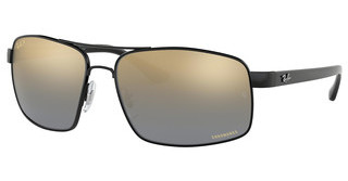 Ray-Ban RB3604CH 002/J0 BLUE MIR GOLD GRADIENT POLARBLACK