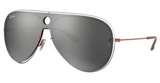 Ray-Ban RB3605N 90976G GREY MIRROR SILVERRED/SILVER