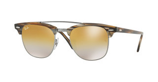 Ray-Ban RB3816 1238I3 BROWN MIRROR SILVER GRADIENT GGUNMETAL