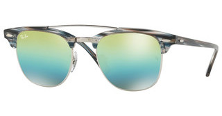 Ray-Ban RB3816 1239I2 GREEN MIRROR BLUE GRADIENT GRESILVER