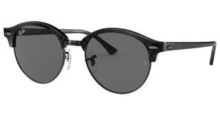 Ray-Ban RB4246 1305B1 DARK GREYTOP WRINKLED BLACK ON BLACK