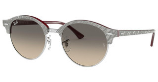 Ray-Ban RB4246 130732 CLEAR GRADIENT GREYTOP WRINKLED GREY ON BORDEAUX