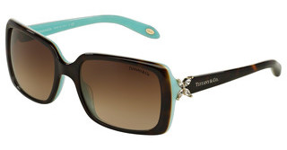 Tiffany TF4047B 81343B BROWN GRADIENTTOP HAVANA/BLUE