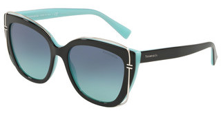 Tiffany TF4148 80559S AZURE GRADIENT BLUEBLACK/BLUE