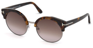 Tom Ford FT0608 55Z verspiegelthavanna bunt
