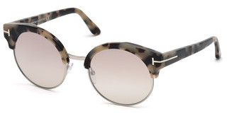 Tom Ford FT0608 56G braun verspiegelthavanna