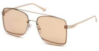 Tom Ford FT0655 28E braunrosé