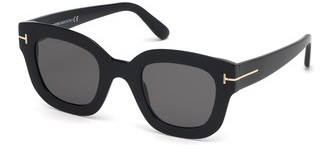 Tom Ford FT0659 01A grauschwarz glanz