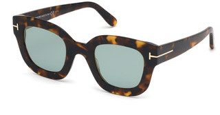Tom Ford FT0659 55X blau verspiegelthavanna bunt