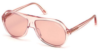 Tom Ford FT0732 72Y violettrosa glanz