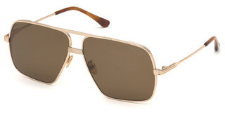 Tom Ford FT0735-H 28M roviex polarisierendrosé