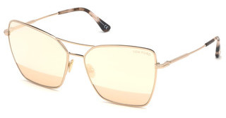 Tom Ford FT0738 28Z verspiegeltrosé