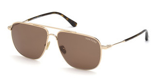 Tom Ford FT0815 28E braunrose-gold glanz