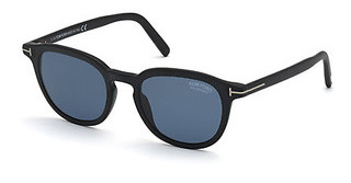 Tom Ford FT0816 02V blauschwarz matt