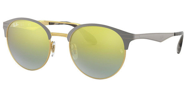 Ray-Ban   RB3545 9007A7 GREEN MIRROR SLVER GRAD GOLDGOLD/MATTE GREY