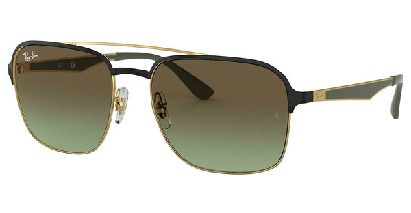 Ray-Ban   RB3570 9110E8 GREEN GRADIENT BROWNGOLD/BLACK