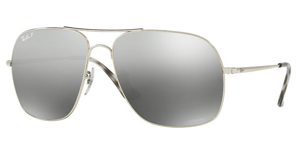 Ray-Ban   RB3587CH 003/5J GREY MIR GREY GRADIENT POLARSHINY SILVER